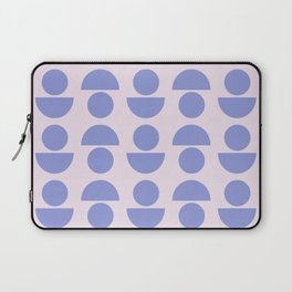 Shapes in Periwinkle Laptop Sleeve