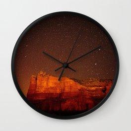 Rock Formation Sedona Arizona Wall Clock