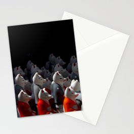 Holy foxes! Stationery Cards