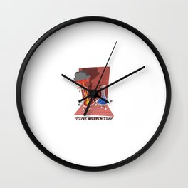 You're Overreacting! Wall Clock