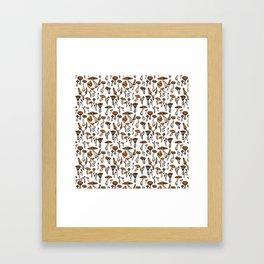 Mushroom Addiction Framed Art Print