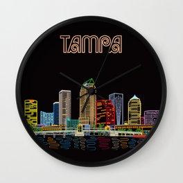 Tampa Circuit Wall Clock