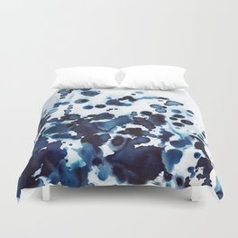 Large waves and sea spray. Duvet Cover
