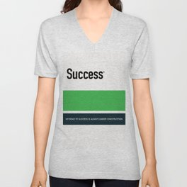 SUCCESS Unisex V-Neck