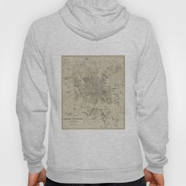 Vintage Map of Baltimore MD (1919) Hoody
