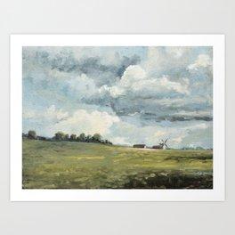 European Countryside No. 1 Art Print