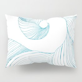 Tidal Wave (Teal Edition) Pillow Sham