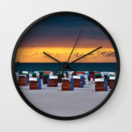 Before the storm #2 Wall Clock