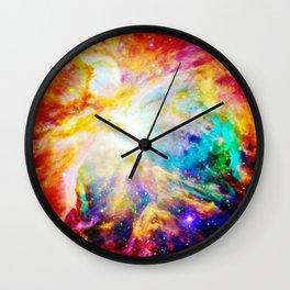 Orion nEbula : Bright & Colorful Wall Clock