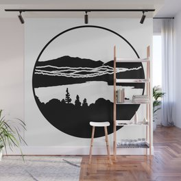 Lafayette and Franconia Notch from Shadow Lake Wall Mural
