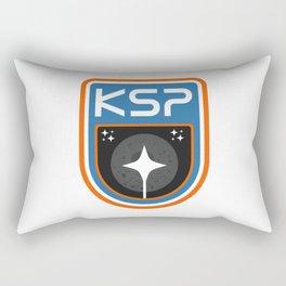 Kerbal Space Program Badge - The Mun Rectangular Pillow