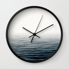 Misty Sea I - Abstract Waterscape Wall Clock