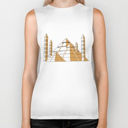 Pyramids Biker Tank