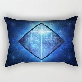 A Star Will Guide You Through the Dark of Winter Rectangular Pillow