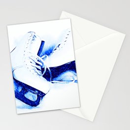 Anyone For Skating? Stationery Cards