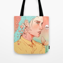If I Could Only Live Once More Tote Bag