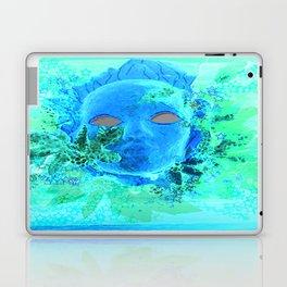 Born of the Sea Mask Laptop & iPad Skin