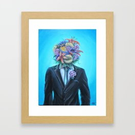 The Boutonniere Framed Art Print