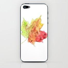 Fall Leaf #2 iPhone Skin
