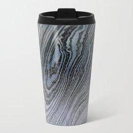 Pale Damascus Steel Travel Mug