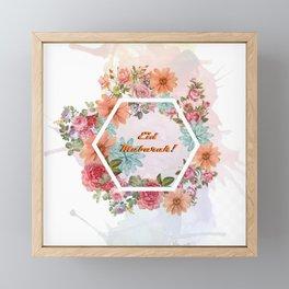 Eid mubarak! Framed Mini Art Print