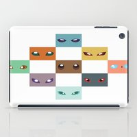 eevee iPad Cases featuring Eyes of Eevee by Casey Sawyer
