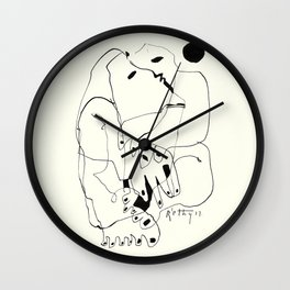 Purification of the Soul Wall Clock