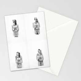 """""""Connection Within"""" by Nacho Dung Stationery Cards"""