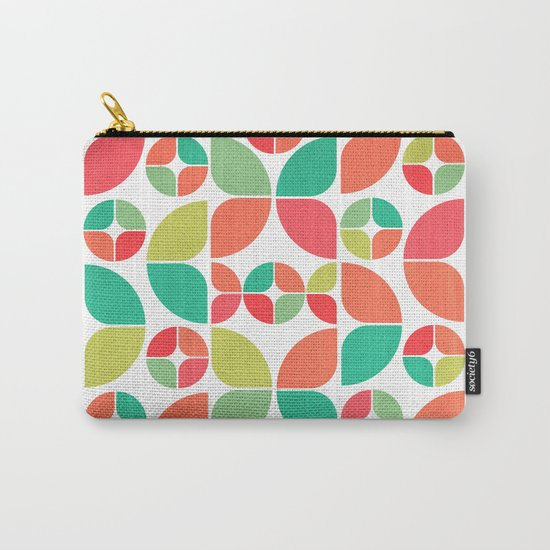 Vintage Summer Pattern Carry-All Pouch