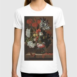 "Jacob Marrel ""Flowers in a glass vase"" T-shirt"