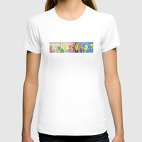 boxing T-shirts featuring Boxing by Bakal Evgeny