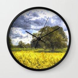 The Peaceful Farm Art Wall Clock