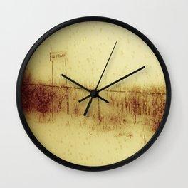The Train Journey Wall Clock