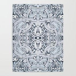 Decorative Lace Poster