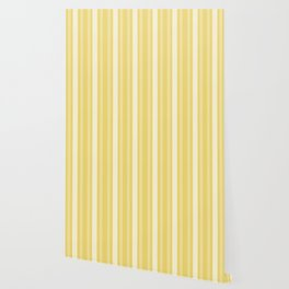 Buff Victorian Lady Stripe Wallpaper