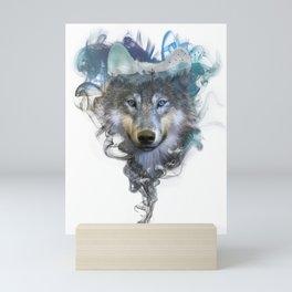 Wolf - Spirit Animal Mini Art Print