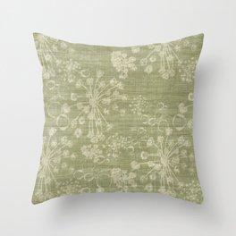 Plant Seeds Throw Pillow