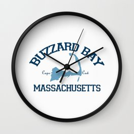 Buzzards Bay. Cape Cod Wall Clock