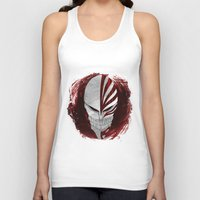 bleach Tank Tops featuring Bleach - Hollow by Bradley Bailey