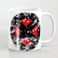xmen Mugs featuring XMen by sambeawesome