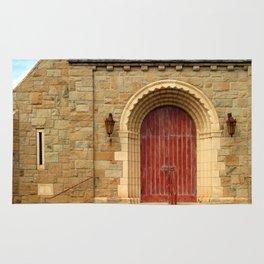 Old Church Door Rug