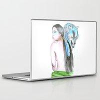 indie Laptop & iPad Skins featuring Indie by Tamara Kajper