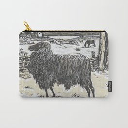 Sheep in a landscape , Richard Roland Holst, 1878 Carry-All Pouch