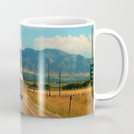 Life on the road Coffee Mug