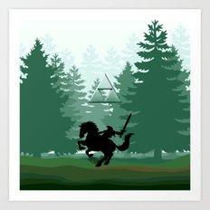 Legend Of Zelda Art Print