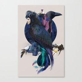 liquor for the birds Canvas Print