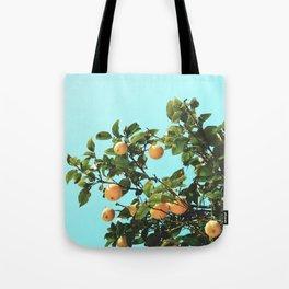 Summer Orange Tree Tote Bag