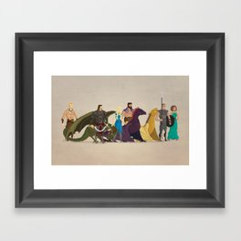 Mhysa's Gang Framed Art Print