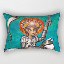 Joan of Arc Rectangular Pillow