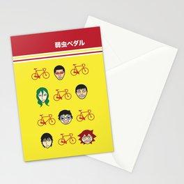 yowamushi pedal sohoku print Stationery Cards